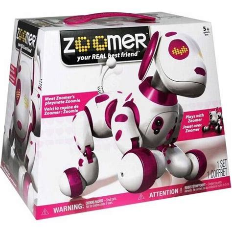 zoomer zuppies tiny puppy zoomer the robot for gifts for everyone
