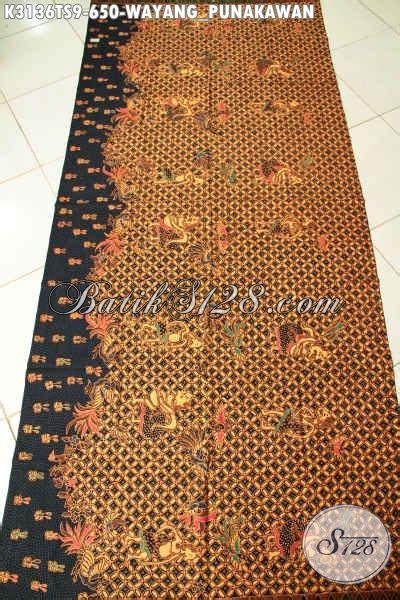 Kain Wayang kain batik wayang tulis soga motif punakawan batik