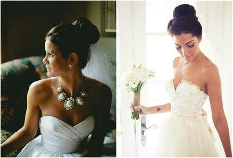 Wedding Hairstyles With Veil And High Bun by Top 8 Wedding Hairstyles For Bridal Veils