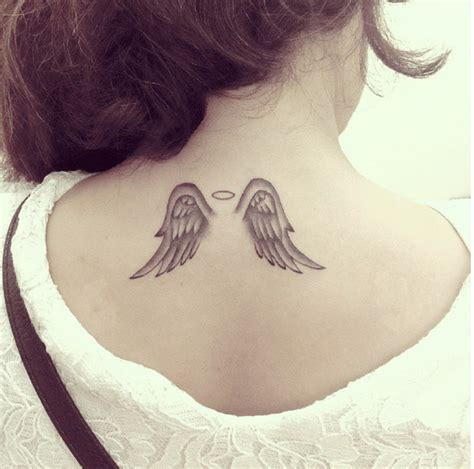 small angel wings tattoo i love this tattoos