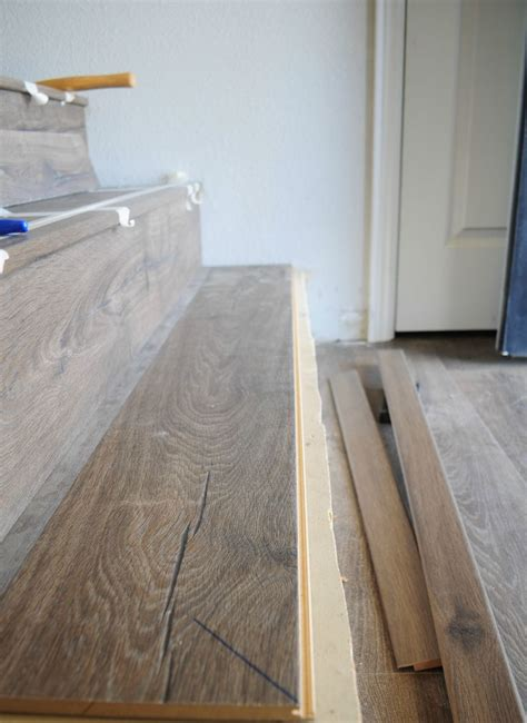 How To Install Laminate Flooring On Stairs by Best 25 Laminate Stairs Ideas On Laminate