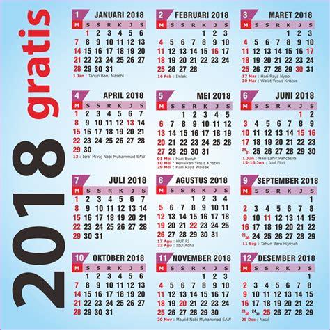 Kalender 2018 Bulan Februari Jawa Kalender 2018 Kostenlos Printable 2018 Calendar Free