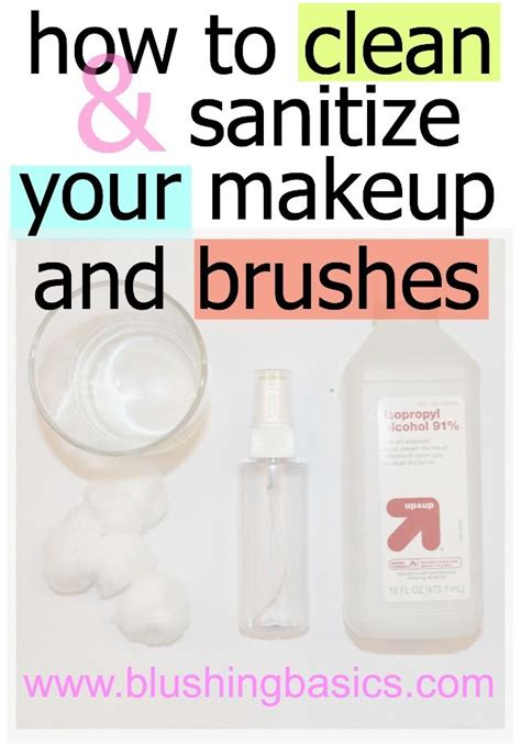 cleaning makeup brushes at home saubhaya makeup