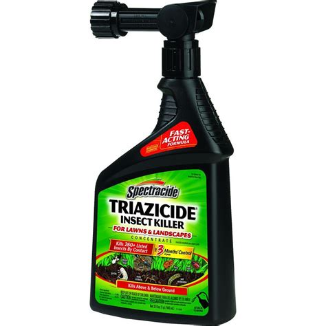 repellent for lawn spectracide triazicide 32 fl oz ready to spray lawn