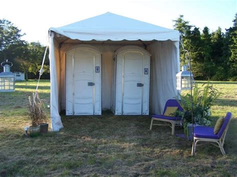 portable bathroom rentals for weddings 17 best images about wedding porta potty on pinterest