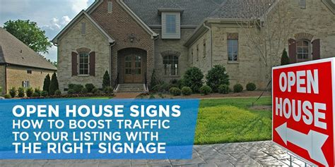 where to buy open house signs open house signs how to drive traffic to your open house