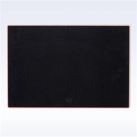 large leather desk mat coral caviar leather large desk mat
