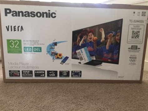 Tv Led Panasonic Viera C 400 panasonic viera tc 32a400u 32 inch led tv brand new in box