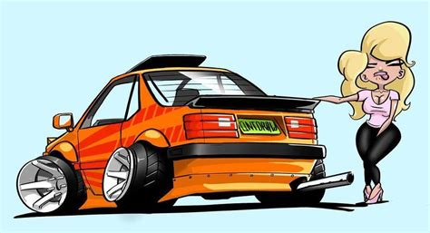stanced cars drawing all about cars on quot when your car car