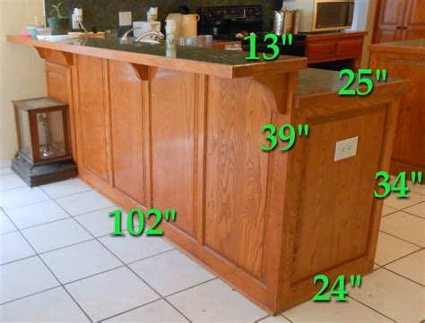 breakfast bar dimensions kitchen breakfast bar converted to shelf unit front porch cozy