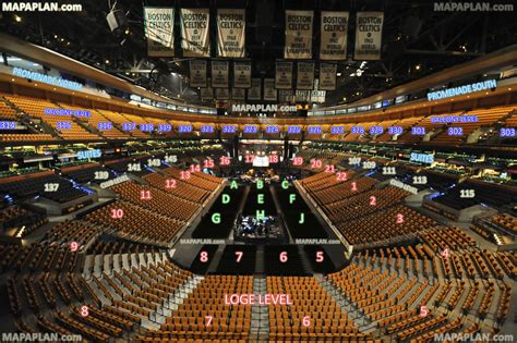 td garden seating chart with seat numbers seating chart td garden td garden venue