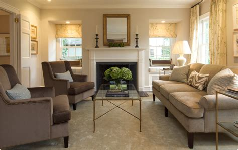 Transitional Living Room Design by Key Interiors By Shinay Transitional Living Room Design Ideas