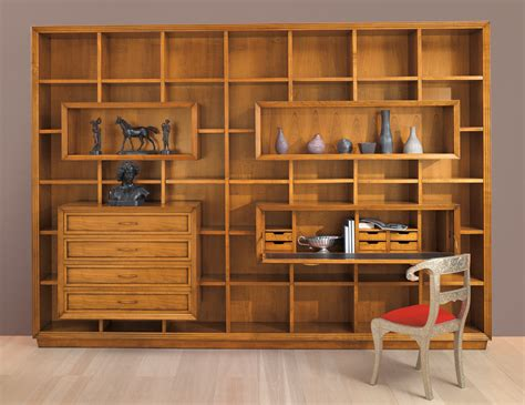 bookshelves wall unit gio cmp 009 contemporary italian designer modular wall