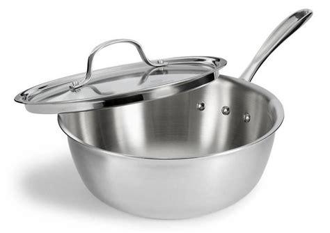 kitchen interesting kitchen essentials from calphalon calphalon amazon com calphalon tri ply stainless steel 3 quart chef