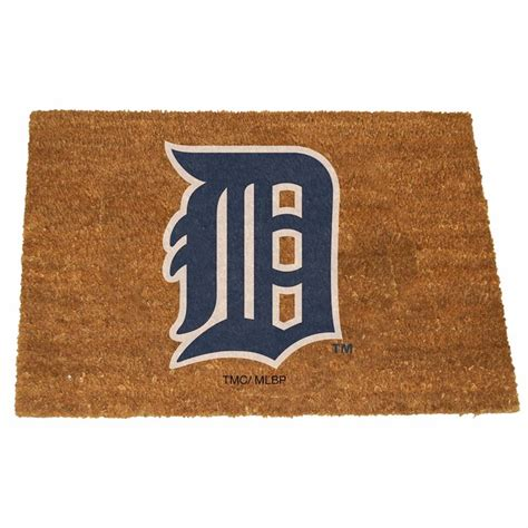 detroit tigers colors detroit tigers color exterior doormat