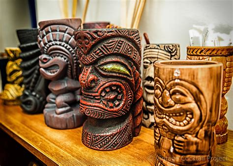 Tiki Bars For Sale tiki mug collection