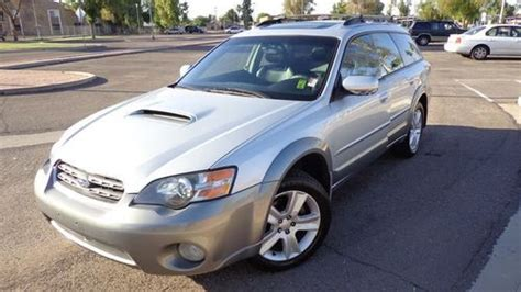 where to buy car manuals 2005 subaru outback security system purchase used 2005 subaru outback xt limited wagon turbo awd 5 speed manual 2 5l 4 cylinder nr
