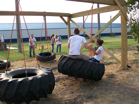 tire swings for swing sets tractor tire swing set flickr photo sharing