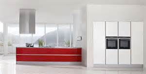 White And Red Kitchen Cabinets - modern kitchen designs with red and white cabinets from doimo cucine digsdigs