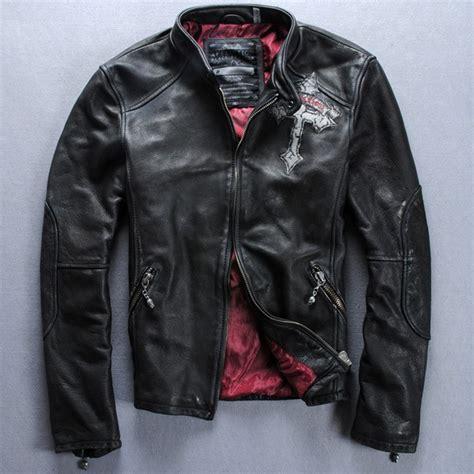 aliexpress compre couro vintage harley jaqueta moto