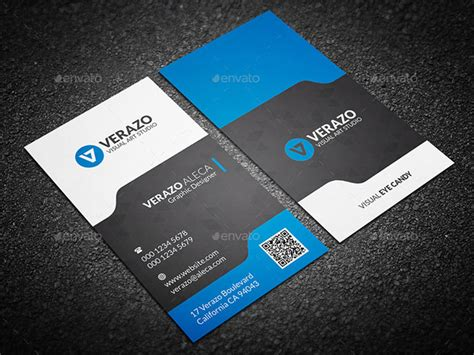 business card backside template vertival top business card templates for 2018