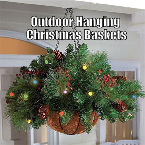 hanging baskets led lights hanging baskets with lights best