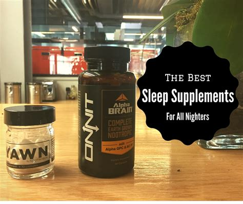 supplement for sleep supplement your sleep