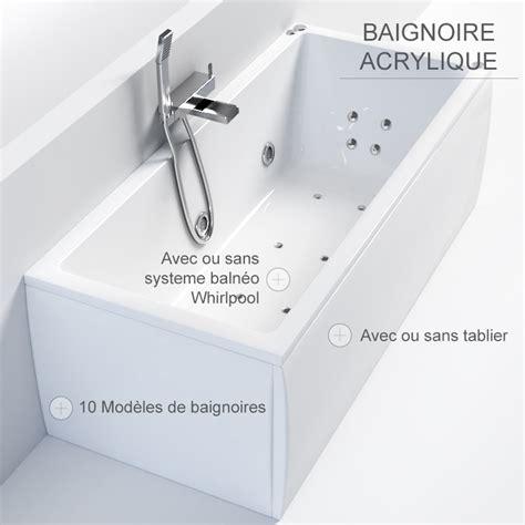 Baignoire 2 Places Sans Balneo by Baignoire 2 Places Sans Balneo Baignoire Balno Tablier