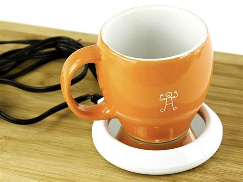 desk mate coffee cup warmer desk coffee warmer 5 amazon com desktop coffee tea