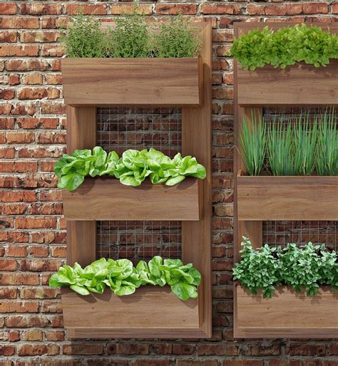 kitchen herb planter painel horta vertical simples 110x50 h01a jpg 1000 215 1086