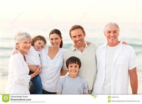 beautiful family beautiful family at the beach stock image image 18497155