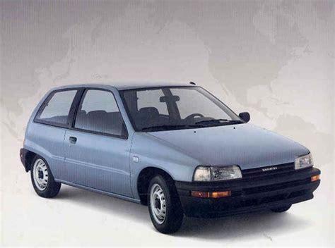 Cornerl Daihatsu Charade 1988 1996 1988 Daihatsu Charade Partsopen