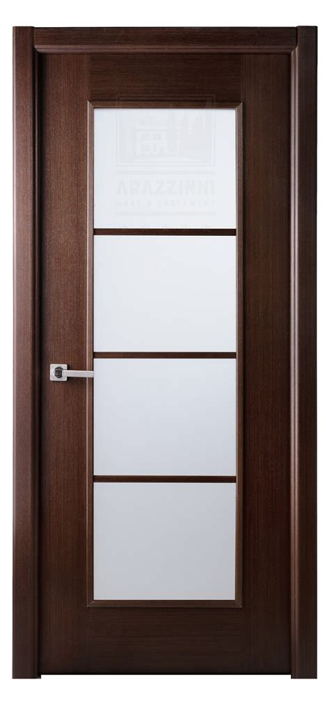 modern lux interior door   wenge finish exotic wood