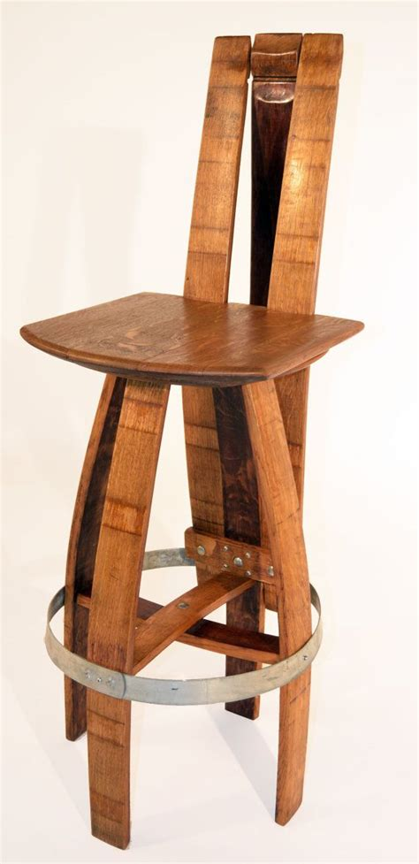 Wine Barrel Stools With Back by The 25 Best Wine Barrel Bar Stools Ideas On