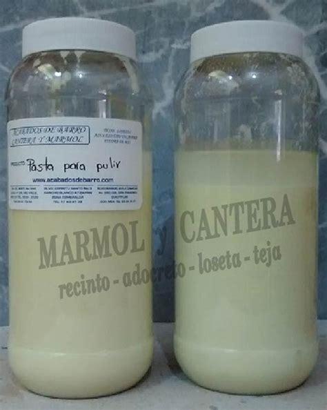 pasta pulir marmol foto pasta para pulir de m 225 rmol y cantera 142359