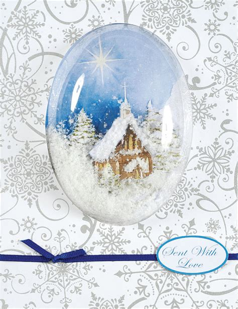 how to make a snow globe card snow globe card