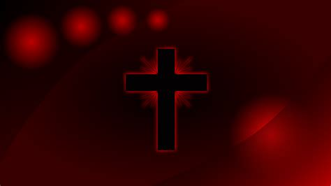 black and red christian cross clipart red glowing cross wallpaper