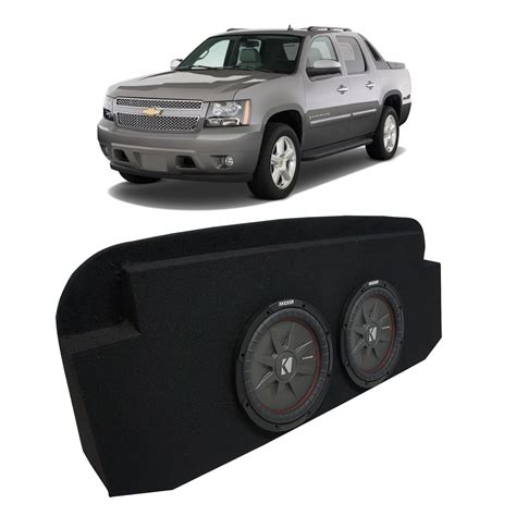 02 13 chevy avalanche seat kicker comprt cwrt10