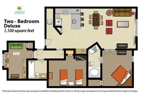 Disney All Star Music Family Suite Floor Plan 2 Bedroom Floor Plan Deluxe Picture Of Legacy Vacation
