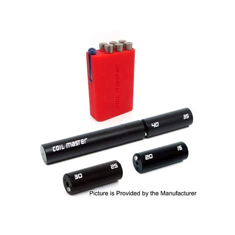 Coil Master V4 6 In 1 Diy Coil Jig V4 authentic coil master coiling kit v4 black 6 in 1 coil jig