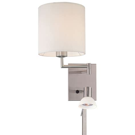 swing arm wall light reading room hardwired swing arm wall l george kovacs