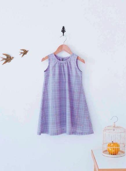 pattern dress a line a line sleeveless dress for girls craftfoxes