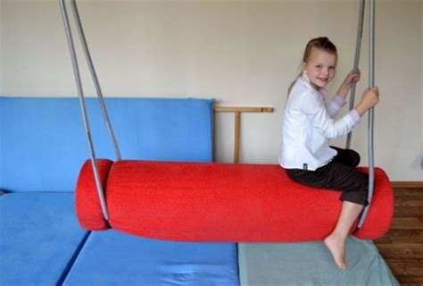 bolster swing sensory integration processing therapy swings bolster swing