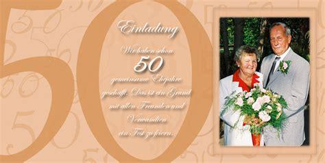 Einladung Goldene Hochzeit by Einladung Einladungskarten Goldene Hochzeit