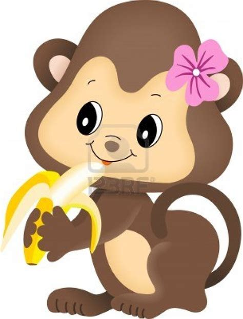 banana clips of cute adult s buyma cartoon monkeys eating bananas 24 at maturka clipart