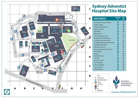 Sydney Hospital Detox Unit parking at the san hospital