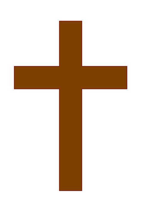 cross clipart brown cross clipart best