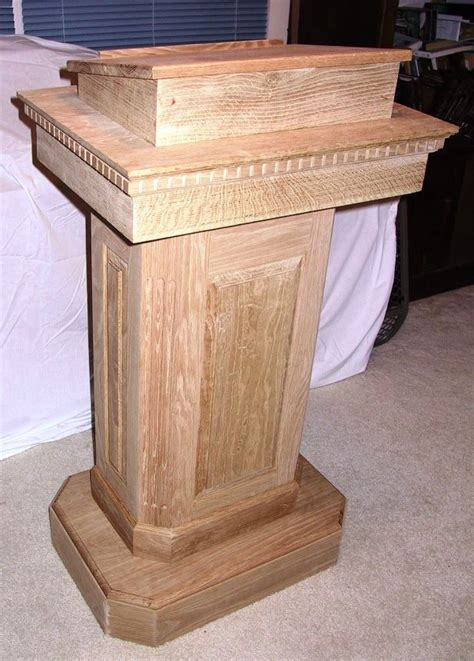 podium woodworking plans 1000 images about church pulpit on wood