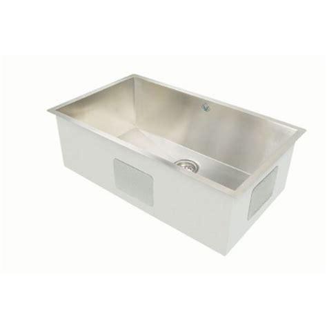 artisan kitchen sinks artisan cpuz 3219 d10 32 inch undermount single basin 16 stainless steel kitchen sink chef