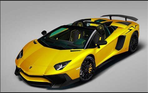 lamborghini aventador sv roadster powerful exclusive and